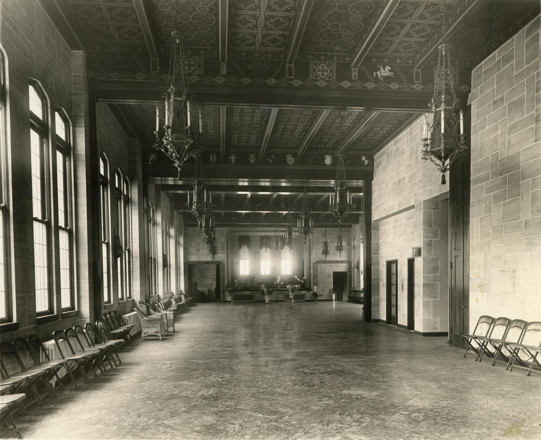 Arcade Building, interior